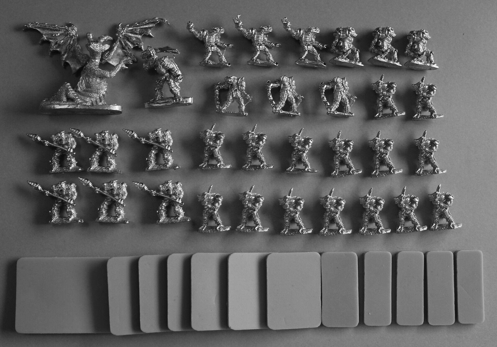 15mm HOTT 1010 DRAGONMAN DRACCI ARMY-Unpainted-Fantasy HOTT 24AP Army-UNPAINTED Army-UNPAINTED Army-UNPAINTED 7cc15a