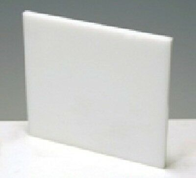 "BRIGHT WHITE PLEXIGLASS ACRYLIC SHEET COLOR #7328 1//8/"" x 12/"" x 12/"""