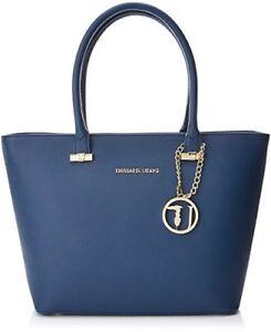 Levanto 75b00018 U280 Borsa Jeans Bag Ecosaffiano Shopping Trussardi PfYxqZE
