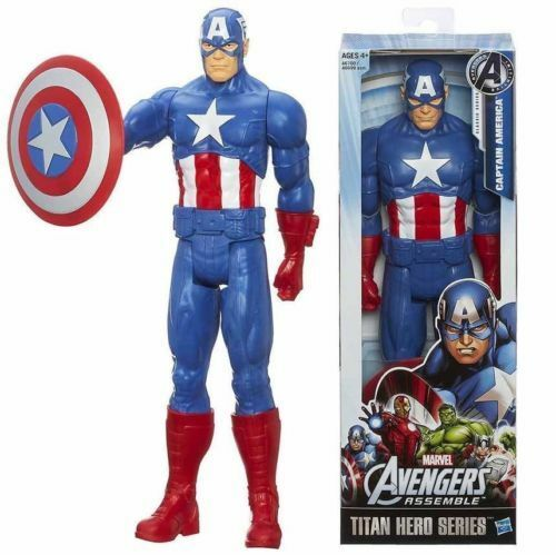"12/""30CM Super Hero Wolverine PVC Action Figure Toy The AVENGERS Marvel Titan Box"