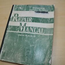 Toyota 5fbcu Series Forklift Repair Shop Service Manual 15 18 20 25 30 Overhaul