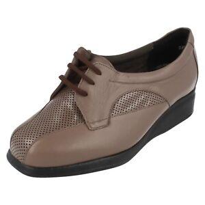 Mujer-Equity-Zapatos-con-Cordones-Gloria-Talla-UK-2-5-4E-Ajuste