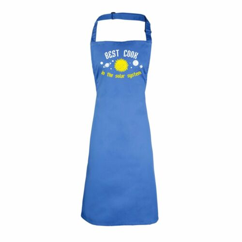 Best Cook In The Solar System Funny Joke Adult Kitchen Cooking PREMIER APRON