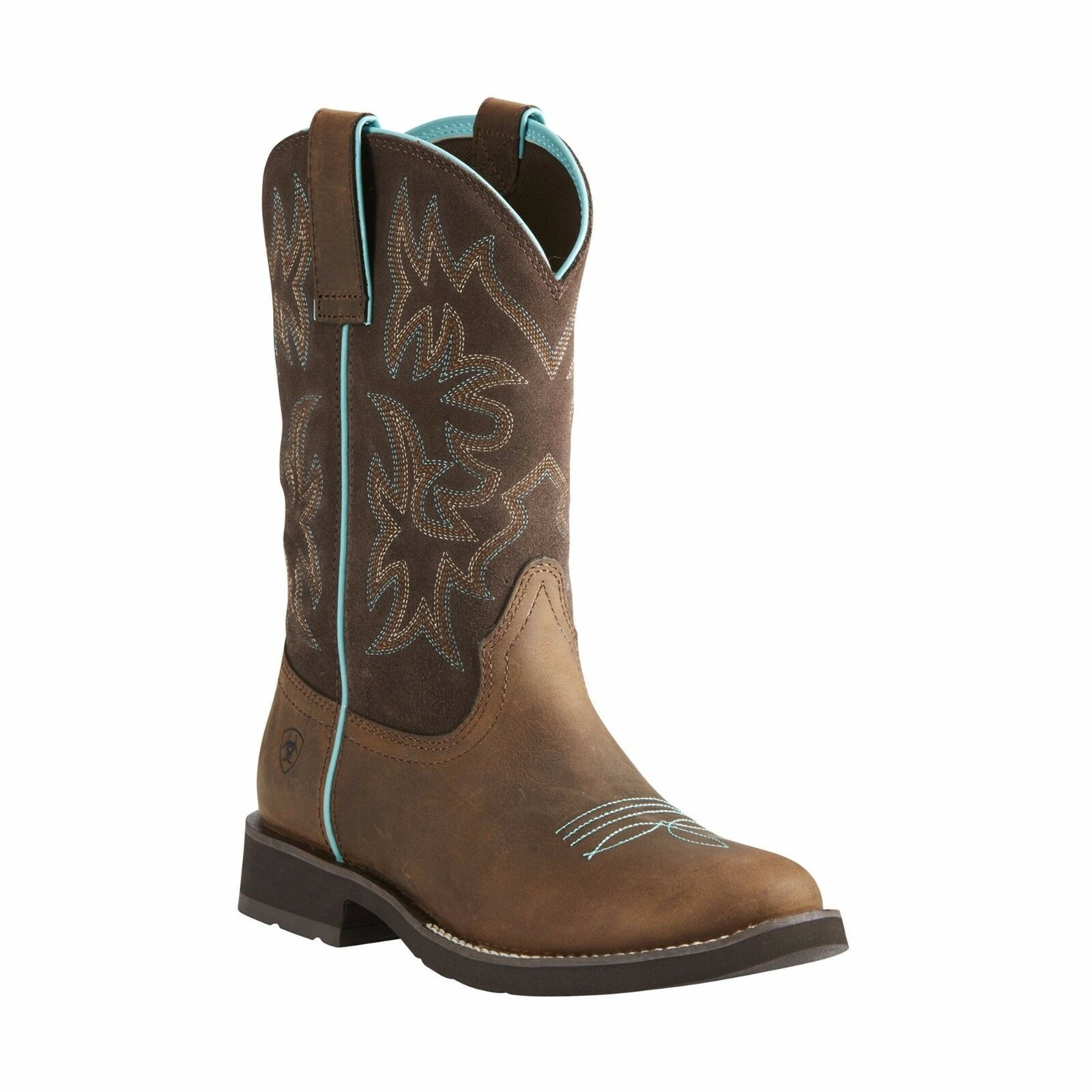 Ariat Ladies Depurpleh Distressed Brown Boot 10021457