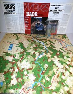 S-amp-T-MOVES-Mag-59-w-Game-BAOR-British-Army-on-Rhine-1980-039-s-op-Verified-Complete