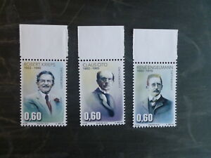 2015-LUXEMBOURG-PERSONALITIES-SET-OF-3-MINT-STAMPS-MNH