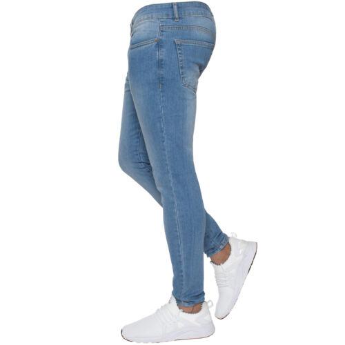 Stretch Denim Jeans msw ez326 metà ez326 dimensioni scuro grigio grigio della vita Wash Pants dsw Tutte nero le Super ez326 Light bianco Mens wht Designer Enzo New lsw Skinny BLK ez326 ez326 ez326 BqYR0txw