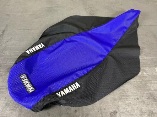 Blue Gripper Style Enjoy Mfg #200 Yamaha YFZ 450 Seat Cover 2004-2013 Black