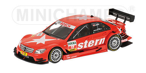 Minichamps-mercedes c class dtm 2009 team amg  mercedes stern mathias lauda  10 jours de retour