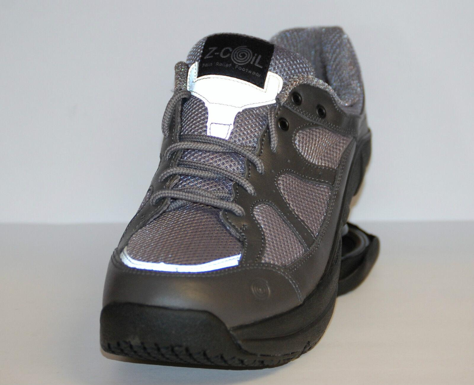 Z-Coil Liberty FW-K1004 Men's Size 14 Gray Leather & mesh Walk/Run Shoe
