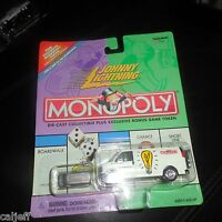 Johnny Lightning Monopoly: Electric Company Gmc Utility Van & Token