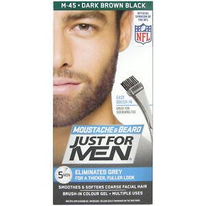 Just For Men M45 Dark Brown-Black Beard Dye | eBay