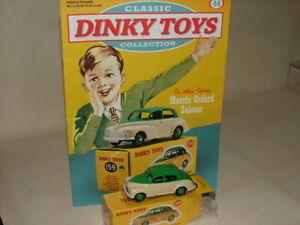 Dinky Toys Norev Francia 1:43 159 1956 Morris Oxford 2 Tonos Nueva En Caja + revista
