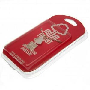 Nottingham-Forest-F-C-Silver-Plated-Pendant-amp-Chain-XL