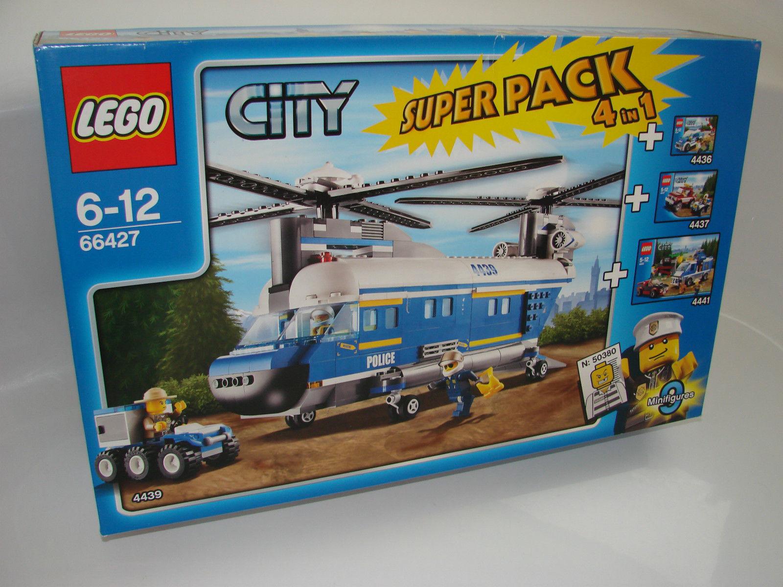 LEGO® CITY 66427 Polizei Superpack Neu OVP _Police NEW MISB NRFB