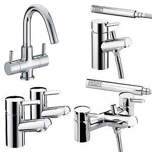 Bristan Prism Taps Basin Mixer Bath Shower Filler Chrome
