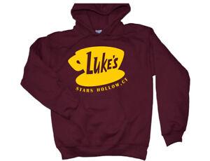 8e8f4e96f Luke's Diner Hoodie Gilmore Girls TV Show Crewneck Sweatshirt Shirt ...