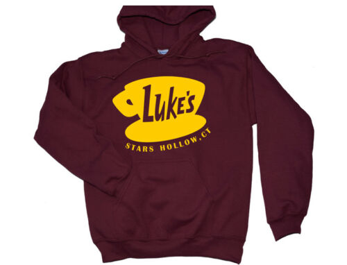 Luke/'s Diner Hoodie Gilmore Girls TV Show Crewneck Sweatshirt Shirt Stars Hollow