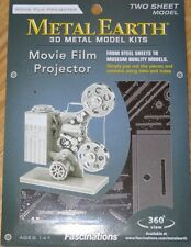 Movie Film Projector Metal Earth 3D Laser Cut Metal Model Kit Fascination MMS088