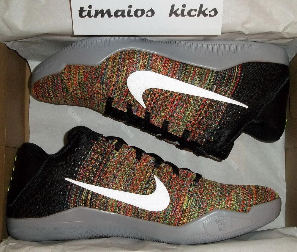 Nike Kobe XI ID 11 QS Multicolor - Chaussures de sport pour hommes et femmes