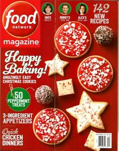 Food network magazine december 2017 holiday baking 142 new recipes image is loading food network magazine december 2017 holiday baking 142 forumfinder Gallery