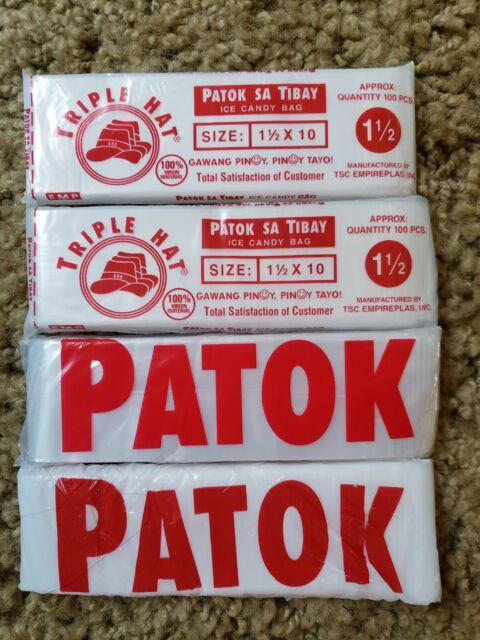 TORINO 5 PACK ICE CANDY WRAPPER BAG 2X10 100 PIECES PHILIPPINES MADE