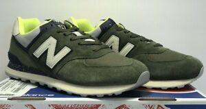New Bargains on New Balance Men's 574 Shoes, Size: 10.5, Black