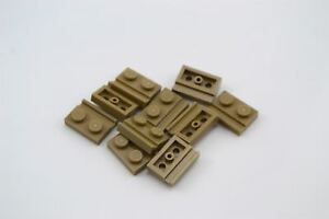 ** 25 CT LOT ** Lego NEW dark tan 1x2 modified door rail plate pieces  Lot of 25