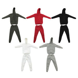 1//6 Men Sports Vest Suit Soldier Clothing for HT 12in Toys Accessories