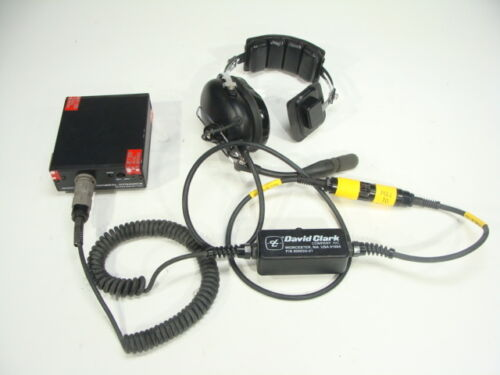 David Clark General Dynamics Communications Headset for MBITR AN//PRC-148 /& More!