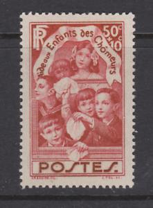 FRANCE-N-312-ENFANTS-DES-CHOMEURS-MNH-COTE-7-65