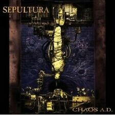 SEPULTURA - CHAOS A.D. CD HEAVY METAL 12 TRACKS NEU