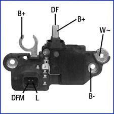 Hüco 130607 Generatorregler