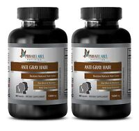 Catalase - Anti Gray Hair Formula - Immune Support Organic - 2 Bottles