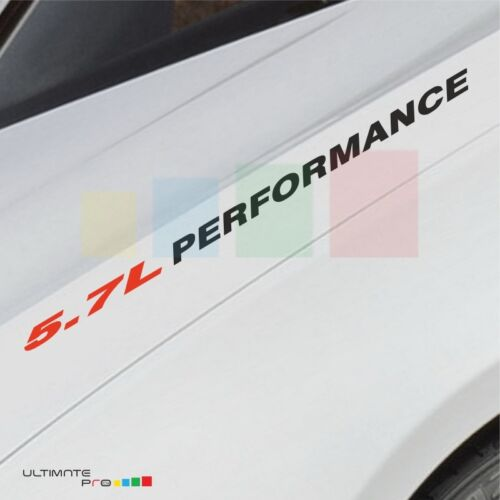 5.7L PERFORMANCE Decal sticker mirror for Chevrolet Corvette 3500 2500 lowering