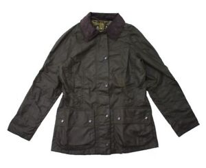 Barbour-Classic-Donna-Beadnell-Cerato-Giacca-in-Oliva