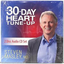 NEW! THE 30 DAY HEART TUNE-UP (2 Disc audio CD set) Steven Masley MD - FREE SHIP