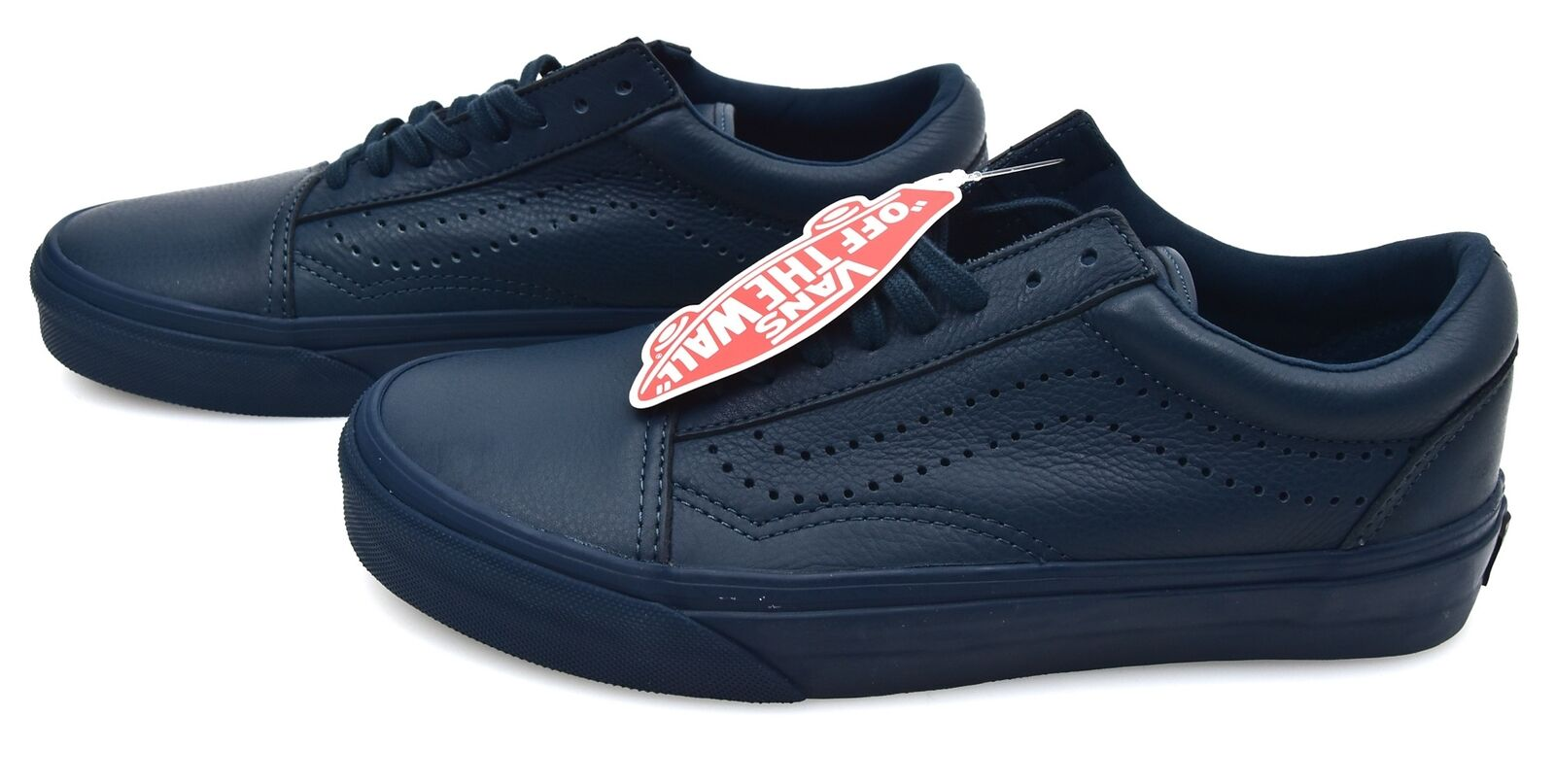 VANS WOMAN SNEAKER SHOES CASUAL FREE TIME LEATHER OLD SKOOL REISSUE VN0A2XS6JX7