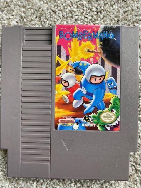 Bomberman II *CLEAN* (Nintendo Entertainment System, 1993)