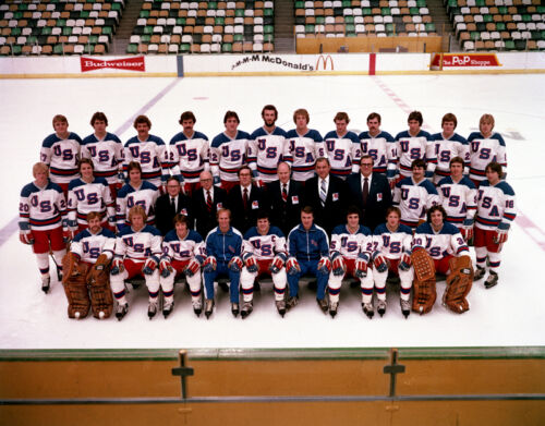 Team USA 1980 Olympic Miracle On Ice 8x10 Photo