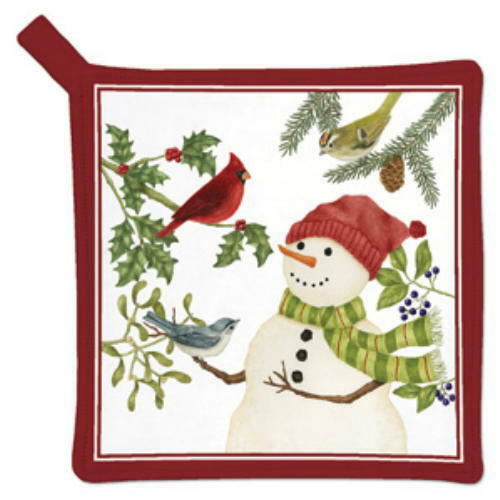 Alices Cottage Snowman And Friends POTHOLDER USA