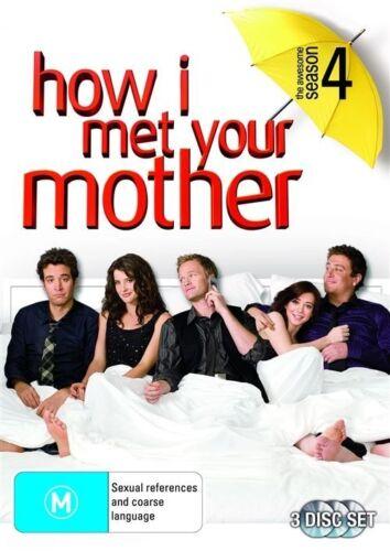 1 of 1 - How I Met Your Mother : Season 4 (DVD, 2009, 3-Disc Set)