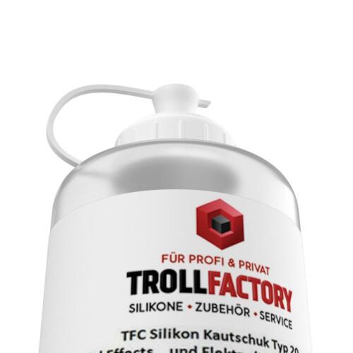 TFC Silikon Kautschuk Typ 20 Verguss transluzent gelartig superweich haftend 2kg