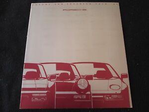 Details About 1990 Porsche Color Chart Brochure 911 Carrera 928 S4 Gt 944 Paint Sample Catalog