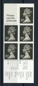 s3217b) UK GREAT BRITAIN MNH** 20px5 Booklet Wicken Fen drainage mill