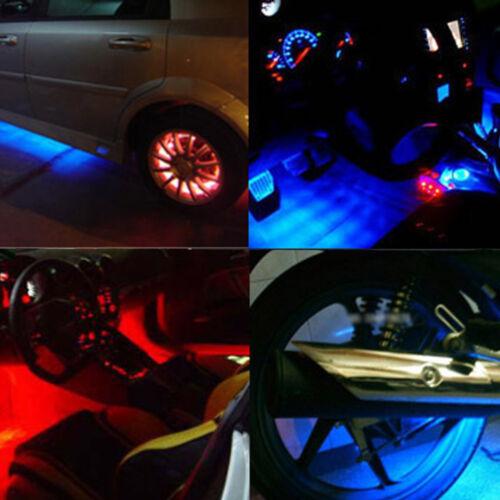 "2Pcs 6/""//12/"" CCFL Interior Exterior Neon Tube 12V Car Lights Cold Cathode Tube"