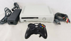 Microsoft-Xbox-360-Pro-4GB-White-Video-Game-Console-Gaming-System-Kids-Room-WOW