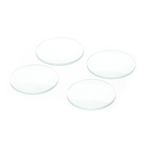 1pc Kristall Uhr Glas Face Lens für Uhr Zubehör Dia 34mm-37mm ee