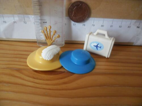 Feathers /& Bag Playmobil New Spare Parts 1071 Hats x 2