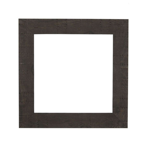 Picture Photo Frame Shabby Chic Rustic Wood Grain  Instagram Square  Poster